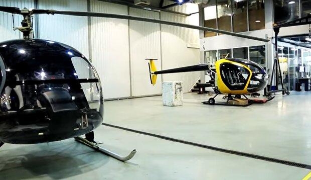 Вертолеты украинского производства, скриншот: YouTube