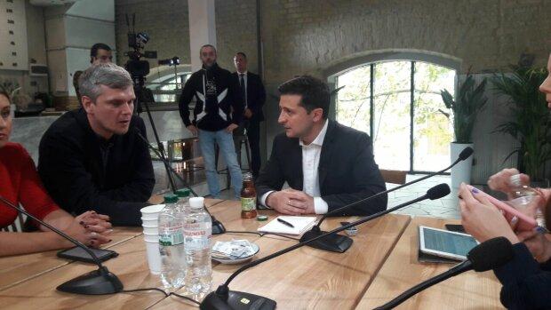 Зеленський влаштував перепалку із журналістом на очах у всіх: відео