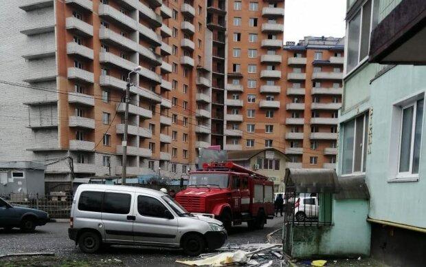 Взрыв в Обухове, фото: Полиция Киевской области