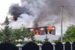 Пожар в хостеле в Польше, фото: Twitter Marek Medela
