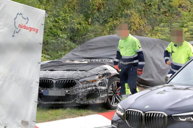 Секретна BMW, carscoops