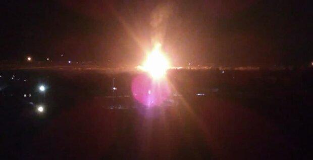 вибух у Луганську, скріншот з відео