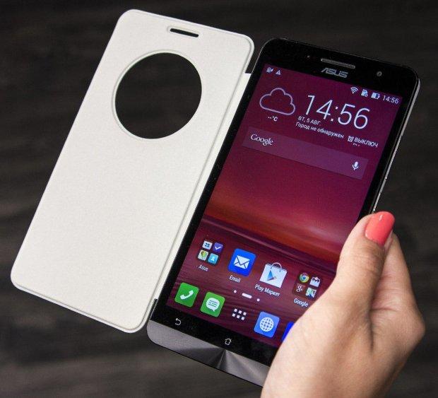 ASUS покажет смартфон-слайдер с навороченной камерой