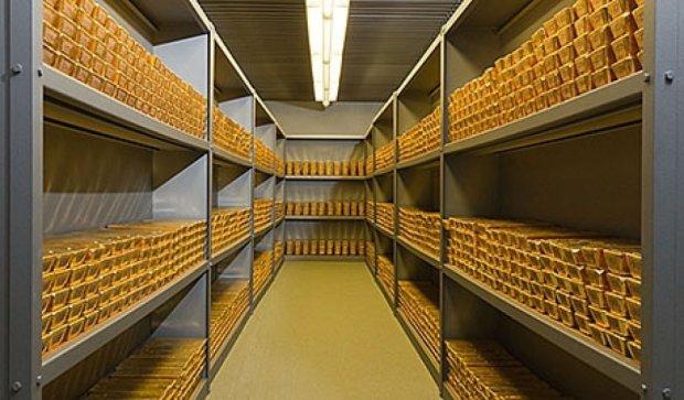 Золотовалютні резерви НБУ «схудли» на 300 мільйонів