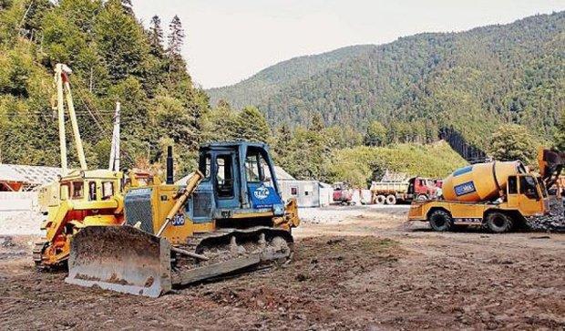 На Закарпатті розпочалося будівництво Брустурянської міні-ГЕС (фото)