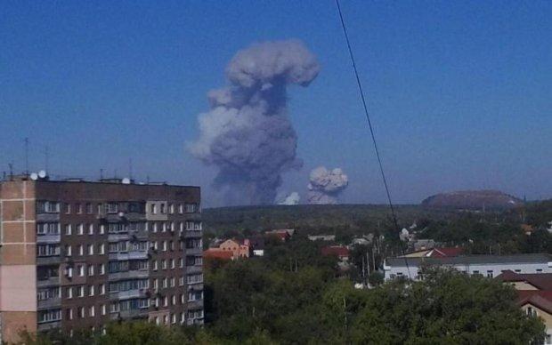 Донецк потряс мощнейший взрыв: кадры с места
