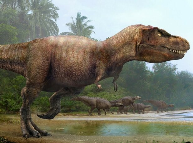 Динозавр, скріншот: YouTube
