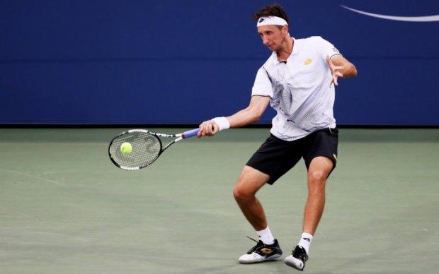 Украинский теннисист оригинально прошел во второй круг турнира в Будапеште