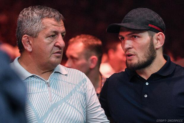 Абдулманап и Хабиб Нурмагомедов, фото: xsport