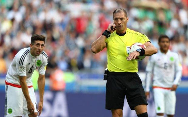 Арбитр отменил гол Португалии на Кубке конфедераций после просмотра видеоповтора