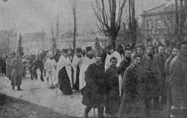 Похороны погибших в бою под Крутами, Похороны погибших в бою под Крутами, фото: nmiu.com.ua