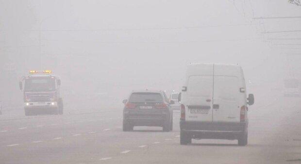 """На Днепр опустится густой туман - синоптики предупредили о """"слепой"""" опасности"""