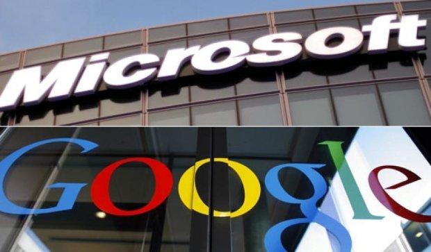 Microsoft і Google врегулювали взаємні претензії щодо патентів