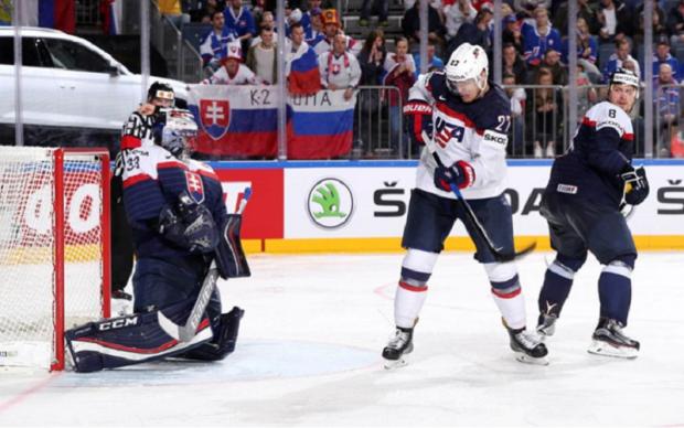 Словаччина - США 1:6 Відео найкращих моментів матчу ЧС-2017 з хокею