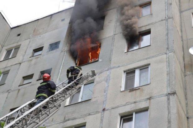 В девятиэтажке Ужгорода сгорел четырехлетний ребенок
