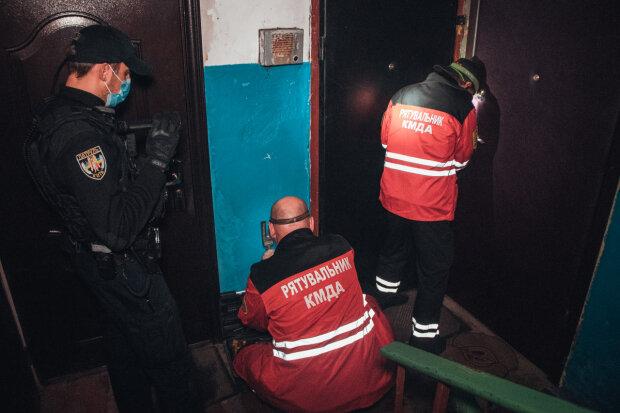 Труп у квартирі в центрі Києва, фото: Апостроф