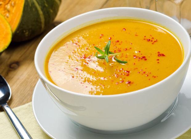 Готовим вместе: суп-пюре из кабачков с плавленым сыром