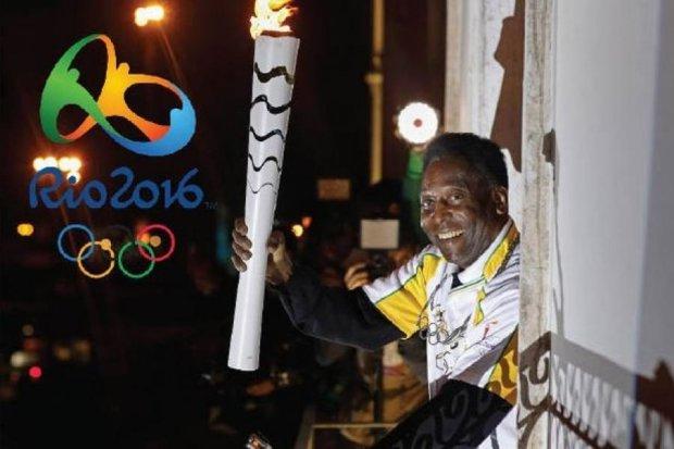 Запалити олімпійський вогонь Пеле завадили спонсори