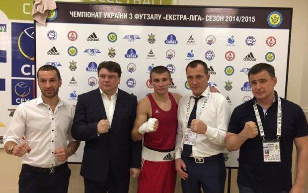 Відразу чотири українські боксери вийшли до фіналу чемпіонату Європи