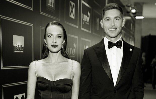 Владимир Остапчук с женой, фото с Instagram