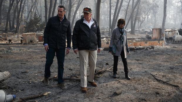 """""""Схожі на монстра"""": Трамп шокував страждаючих від пожеж каліфорнійців жорсткою заявою"""