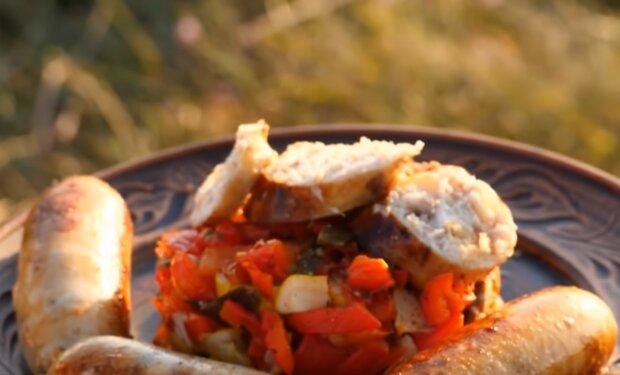Рецепт приготування ковбаси з риби, фото: пресслужба 1+1