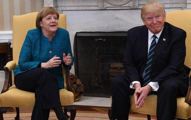Меркель розчарувалася в Трампі