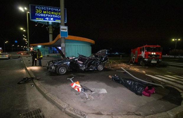 Жуткое ДТП под Киевом: военные сгорели заживо, кадры дорожного хоррора