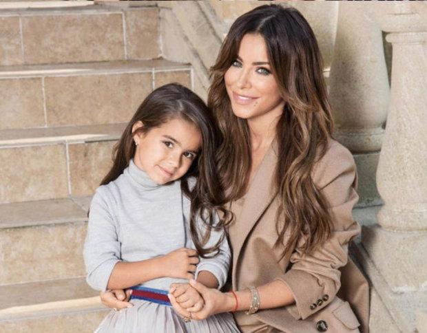 Ані Лорак з дочкою Софією