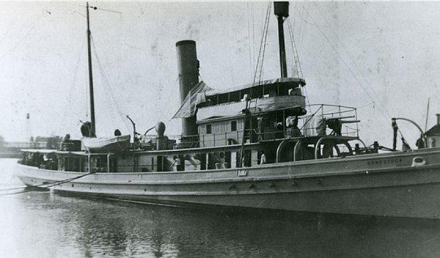 Корабель-привид повернувся через 95 років (фото)