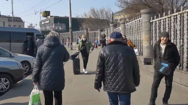 Карантин у Києві, фото YouTube