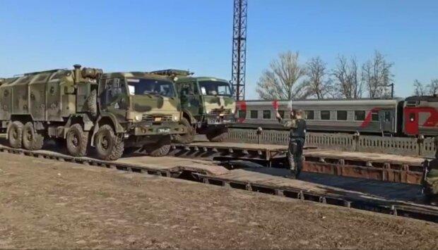 Российские войска, фото: скриншот из видео