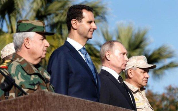 Обійми двох вбивць: Путіна та Асада спіймали на гарячому