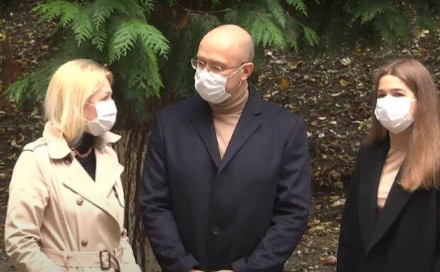Денис Шмигаль на местных выборах фото: кадр из видео