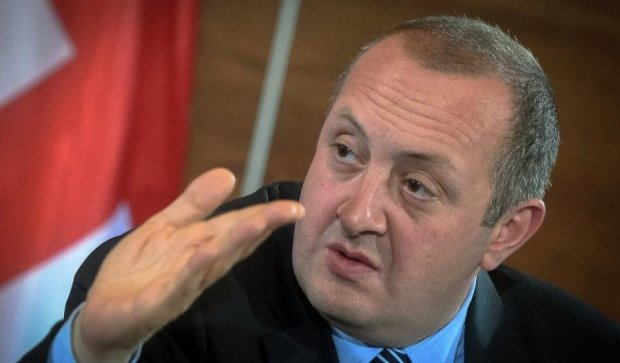 Президент Грузії образився на  Саакашвілі