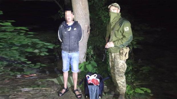 На Закарпатье задержали нелегала из Афганистана, фото с dpsu.gov.ua
