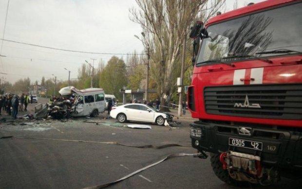 Кривава автотроща у Кривому Розі: медики розповіли про стан затриманого водія