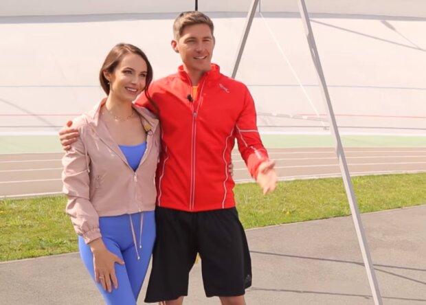 Владимир Остапчук  и Кристина Горняк, скрин из видео