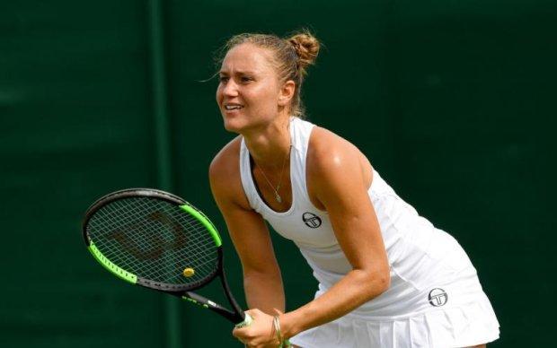 Вімблдон-2017: Українська тенісистка вибула в першому колі