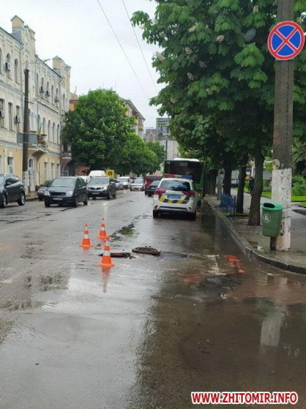 Місце аварії / фото: Житомир Info
