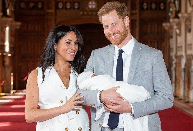 Син Меган Маркл і принца Гаррі виявився схожим на зіркового родича: як дві краплі води