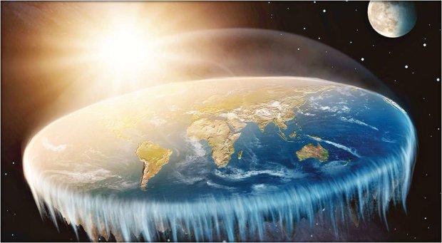 """Земля """"плоская"""""""