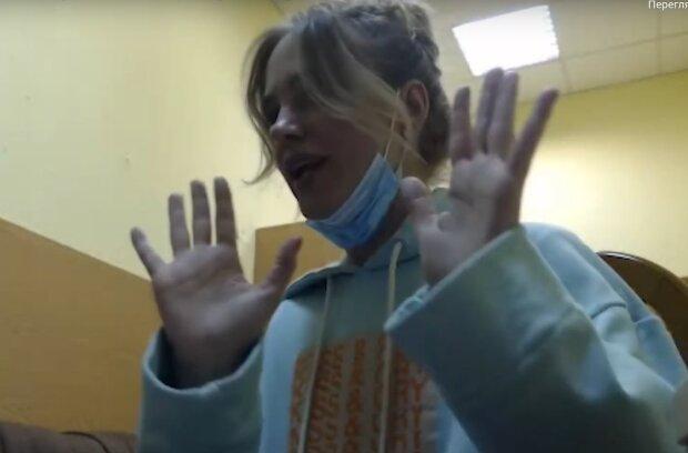 певица Глюкоза, скрин с видео