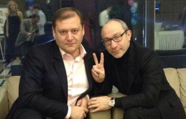 Михайло Добкін і Геннадій Кернес, фото nosikot.livejournal.com