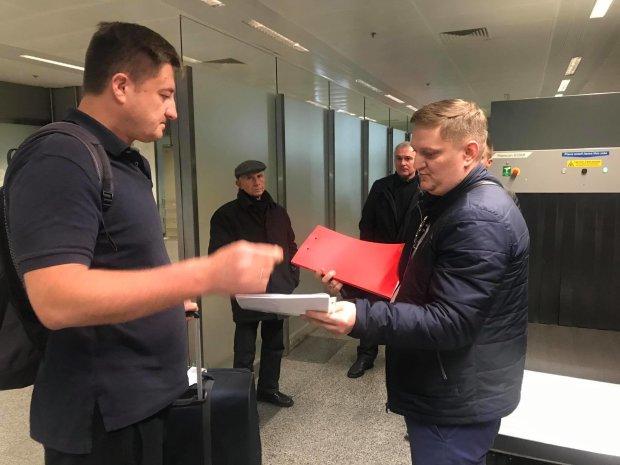 Голову Держрезерву з відпустки зустрічала прокуратура