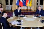 ″Ріжки″ Зеленського, ″туалетний″ конвой Путіна та інші жарти українців про саміт у Парижі