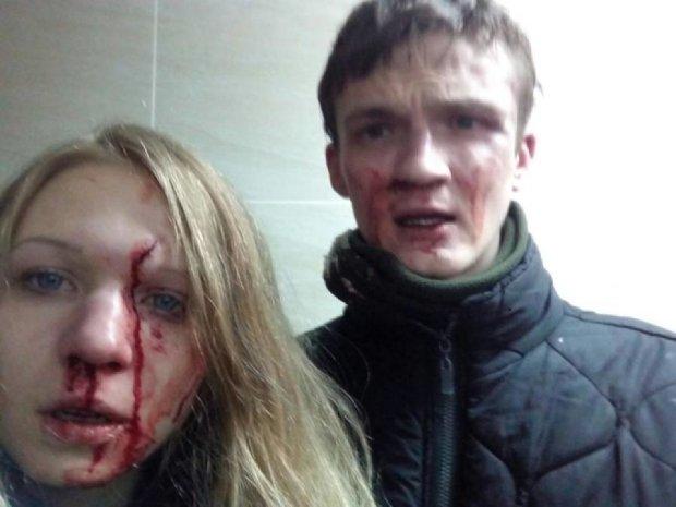 Парень активистки Заверухи поделился подробностями избиения