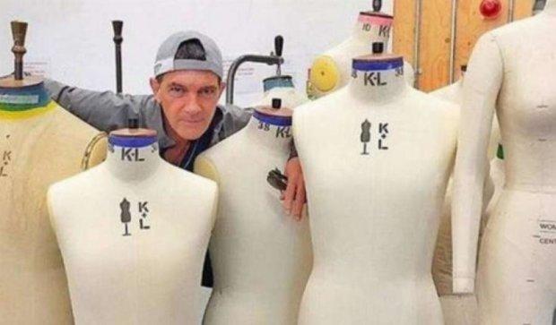 Антоніо Бандерас стане легендарним модельєром