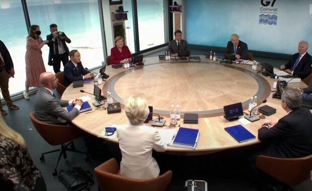 саміт Великої Сімки, скріншот з відео