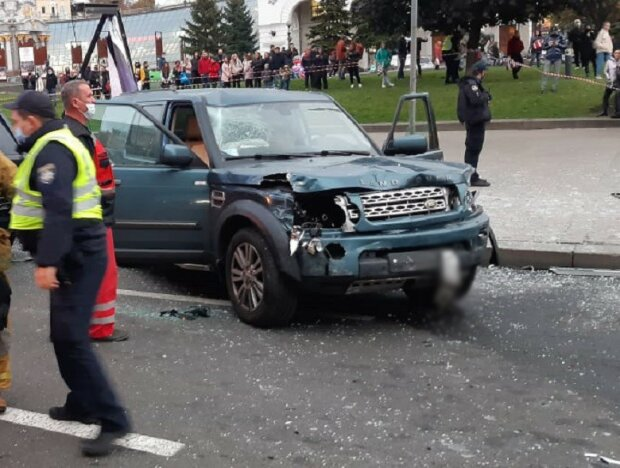 ДТП на Майдане / фото: Полиция Киева